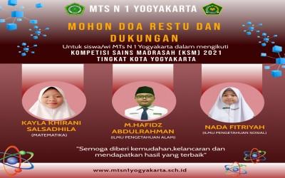 Sabet Juara 2 KSM, MTsN 1 Yogyakarta Bersiap Maju Tingkat Provinsi