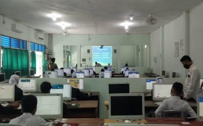 MTsN 1 Yogyakarta Gelar Simulasi ANBK Tahun 2021