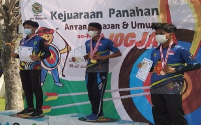 Prestasi Tiada Henti: Pemanah MTsN 1 Yogyakarta Raih Juara 1