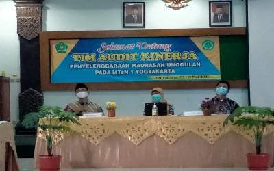 Tim Audit Sambangi Madrasah Unggul MTs Negeri 1 Yogyakarta