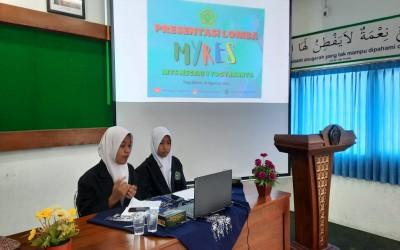 Tim MTsN 1 Yogyakarta Ikuti Presentasi Proposal Penelitian pada Ajang MYRES 2021