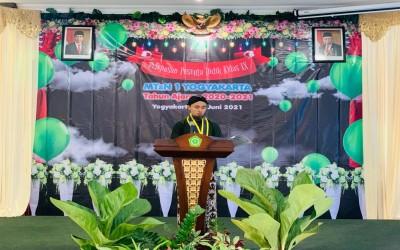 MTsN 1 Yogyakarta Gelar Wisuda dan Pelepasan Siswa Tahun Pelajaran 2020/2021